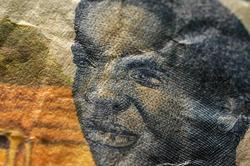 Close up uon Cfa franc