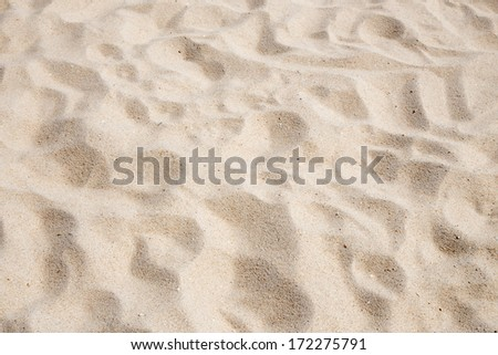 Close up view of beach sand background