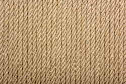 close-up view of brown rope textured background