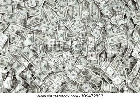 close up view of cash money...