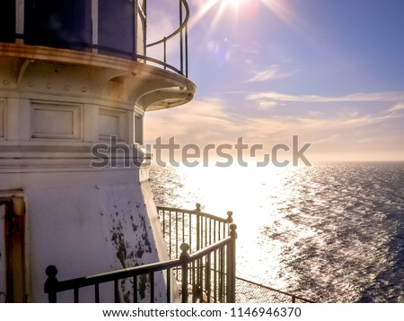 Close-up View of Point Reyes Lighthouse - Point Reyes National Seashore, Marin County, Northern California, USA #1146946370
