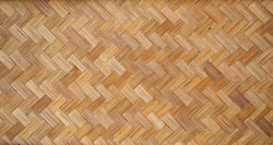 close up Weave bamboo patten