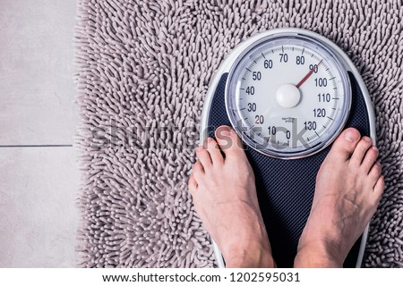 Close-up  Weighing Scale