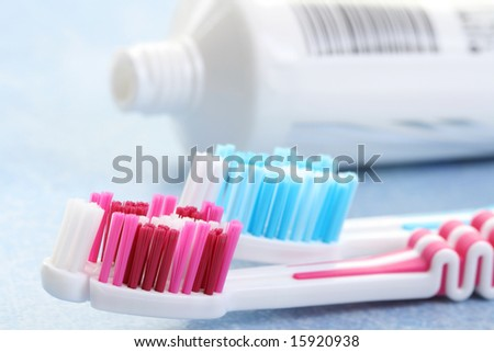 toothbrush. toothpaste. treatment