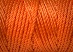 Close view of an industrial rope.