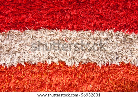Close view of carpet texture