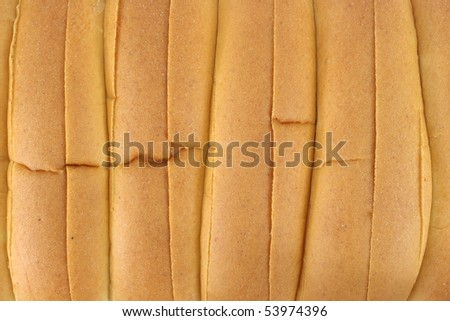 Close view of hot dog buns