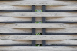 Closed up of house fence, pattern and background concept.