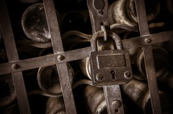 Closed wine cellar