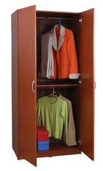 Closet. Isolated