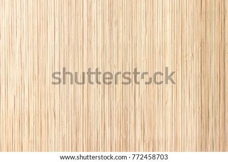 Closeup bamboo counter table texture background