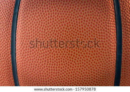 Closeup basketball or basket ball macro texture  and for you on background