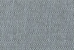 Closeup black and white color fabric texture. Fabric Herringbone,zigzag pattern. design or upholstery abstract background. Hi resolution image.