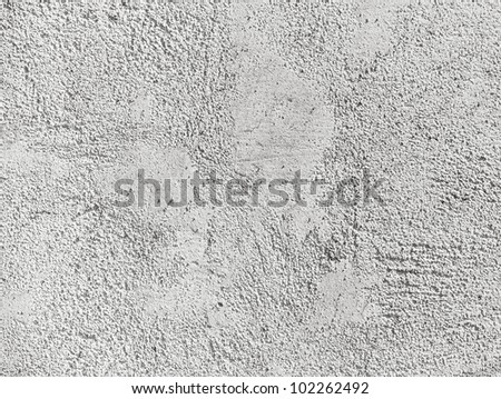 Closeup concrete wall texture with plaster