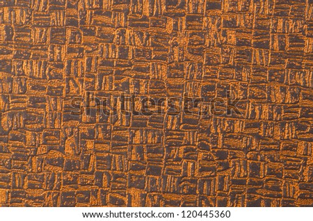 Closeup detail of brown seamless texture.