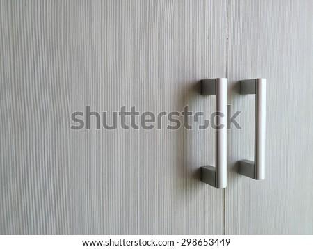 Closeup Door handles