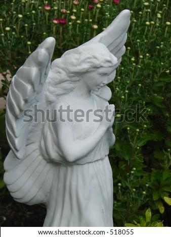 Closeup Garden Angel
