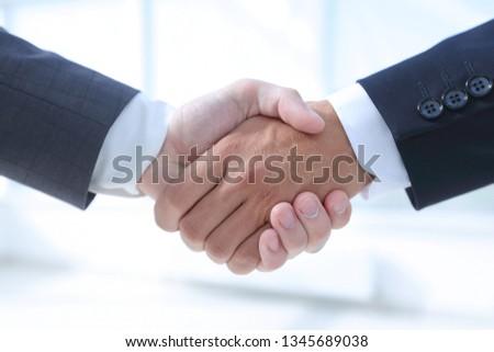closeup.handshake of business partners Foto stock ©