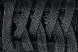 Closeup lacing background texture for design