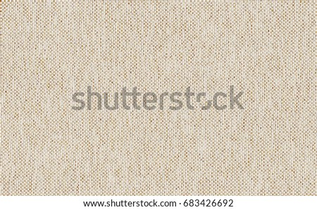 Closeup light brown with beige color fabric texture. Strip light brown fabric line pattern design or upholstery abstract background. Hi resolution image.