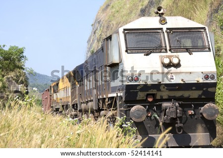 Indian Train Front View