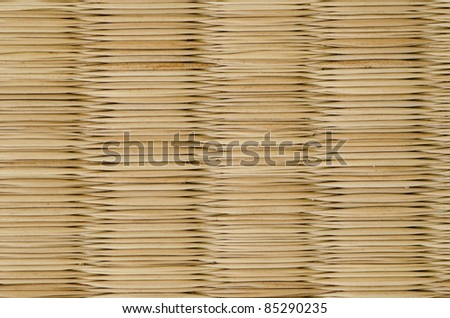 closeup of a tatami mat as used in japan, background