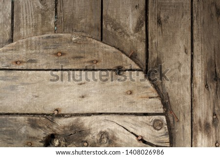 Closeup of a wooden coil for a cable and cable, background or concept. #1408026986