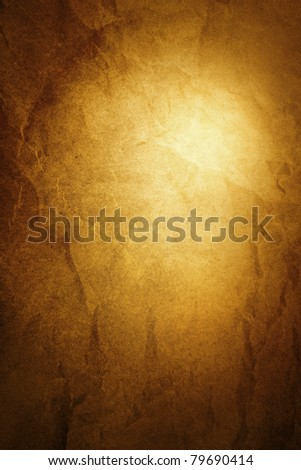 Closeup of abstract textured brown vertical background. Advertising space