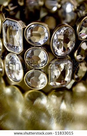 closeup of beauty bracelet
