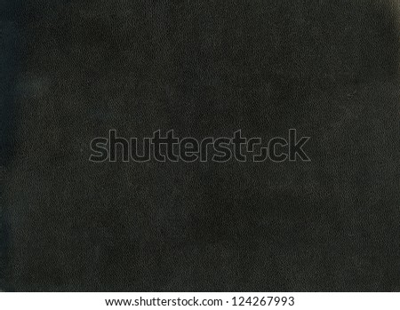 Closeup of black leather texture