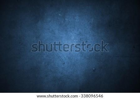 Closeup of blue concrete texture