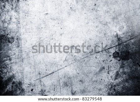 Closeup of blue grunge rough textured background