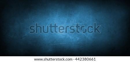 Closeup of blue textured wall #442380661