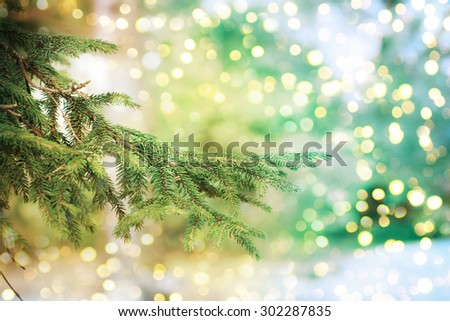 Closeup of Christmas-tree #302287835