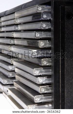 closeup of classic CD/DVD case
