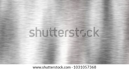 Closeup of colorful super brushed metal plate texture background,  top view (High-resolution 3D CG rendering illustration)