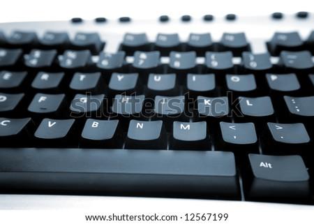 Closeup of computer keyboard #12567199