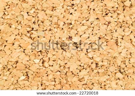 closeup of cork wood texture