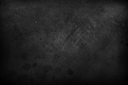 Closeup of dark grunge textured background