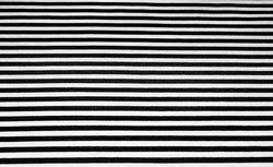 Closeup of Detailed Black and White Striped Fabric Pattern