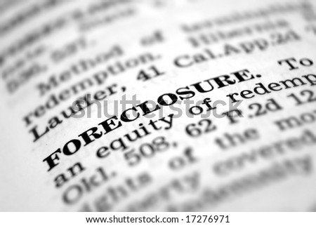 foreclosure  definition