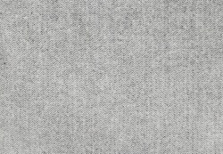 Closeup of light gray wool fabric texture for background