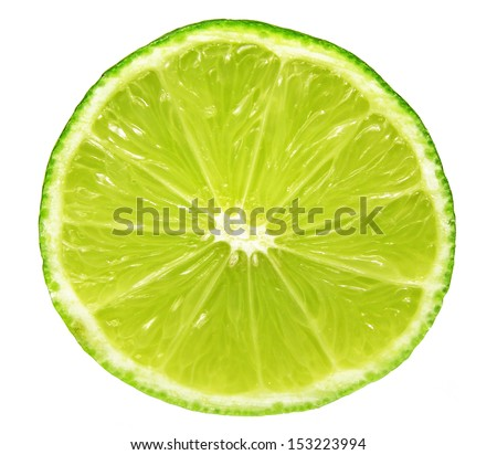 closeup of lime slice #153223994