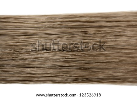 Closeup of long human hair background