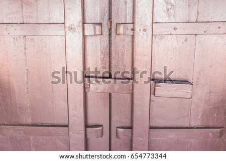 Closeup of old brown door on Thai temple Asia. #654773344 & Free Lock the door in Thai style Photos - page: 5/40 | Avopix.com