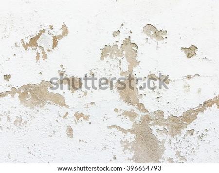 Closeup of peeling painted wall Stock photo ©