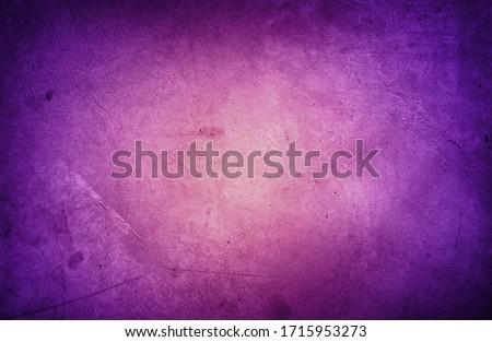 Closeup of purple textured concrete background. Dark edges   Photo stock ©