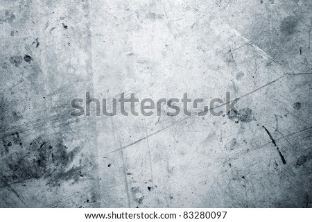 Closeup of rough blue textured grunge background