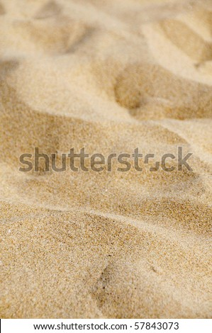closeup of sand of a beach in the summer