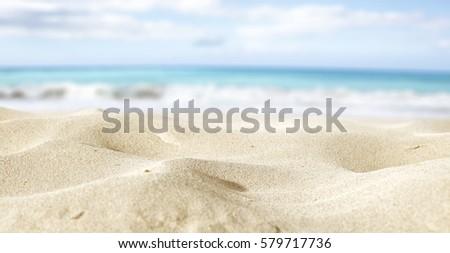 Closeup Sand